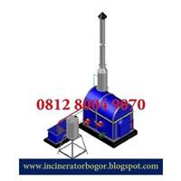 Jual Mesin Incinerator Sampah Umum dan Farmasi