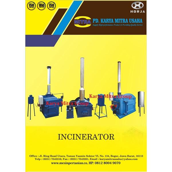 Mesin Incinerator Limbah Domestik