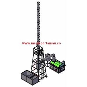 Mesin Incinerator Medis Kapasitas 50 kg batch Type HI M50