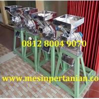 Mesin Penepung atau Mesin Penghalus Gula Semut