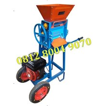 Wheeled Coffee Pulper Machine Grain Peeler Machine