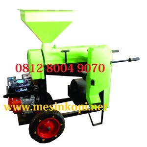 Wheeled Coffee Huller Machine Grain Peeler