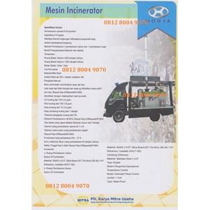 Dari Mesin Incenerator/Incinerator Limbah Industri 0