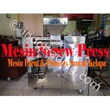 Mesin Screw Press Mesin Pemeras Santan & Mesin Pemarut Kelapa