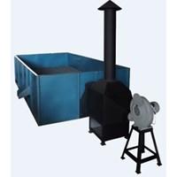 Mesin Box Dryer Mesin Pengering Kopi Kapasitas 750 Kg/Proses Tanpa Pengaduk
