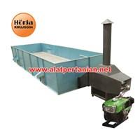 Mesin Box Dryer Mesin Pengering Kopi Kapasitas 3000-4000 Kg/Proses Tanpa Pengadu