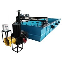 Mesin Pengering Biji Kopi Pakai Pengaduk Otomatis Kapasitas 3000-4000 Kg/Bacth