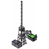 Mesin Incinerator Untuk Limbah Medis Kapasitas 20