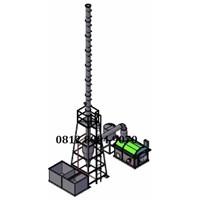 Mesin Incinerator Limbah Medis Kapasitas 100 kg