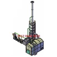 Mesin Incinerator Limbah Rumah Sakit Kapasitas 200 kg