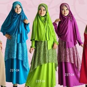 Baju Muslim Arrina Terbaru