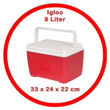 Dingin Igloo Box 8 Liter