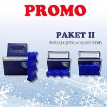 Cooler box 5 liter Paket II free Icepack Lekuk