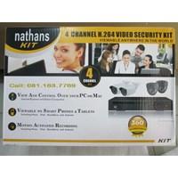 Beli Paket Cctv Nathans 4 Camera  850Tvl 4