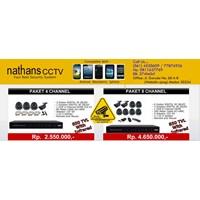 Paket Cctv Nathans 4 Camera  850Tvl 1