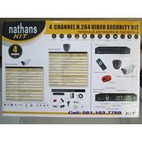 Distributor Paket Cctv Nathans 4 Camera  850Tvl 3