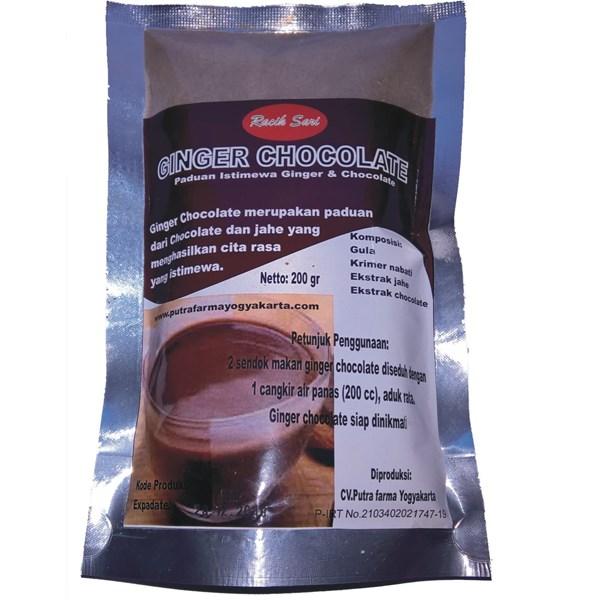 ginger chocolate tea