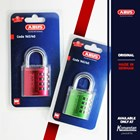 Grey Resettable Combination Aluminum Padlocks 1