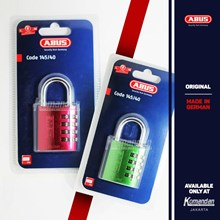 Gembok ABUS - Resettable Combination Aluminium Padlocks
