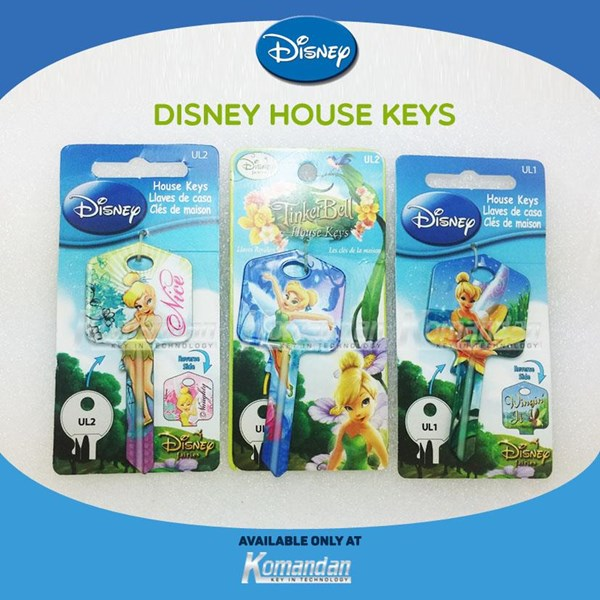 DISNEY HOUSE KEYS - FAIRY