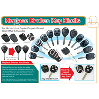 Replace Broken Key Shells 1