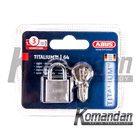 ABUS 64TI/20mm Titalium Outdoor Padlock 1