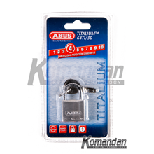 ABUS 64TI/30mm Titalium Outdoor Padlock