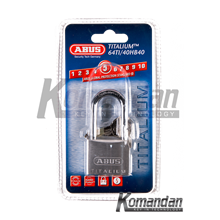 ABUS 64TI/40HB40 Titalium Outdoor Long Shackle Pad
