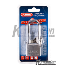 ABUS 64TI/40HB63 Titalium Outdoor Long Shackle Pad