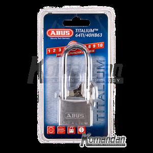 ABUS 64TI/40HB63 Titalium Outdoor Long Shackle Padlock