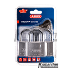 GEMBOK ABUS 64TI/50mm Titalium Outdoor Padlock 3 Units 1