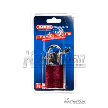 GEMBOK ABUS 83AL/40mm Titalium Outdoor Padlock (Red)