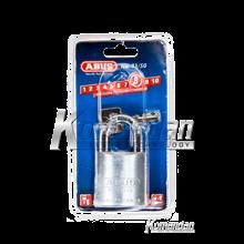 ABUS 83AL/50mm Titalium Outdoor Padlock (Silver)