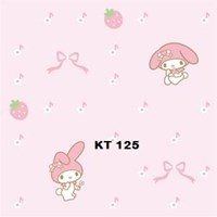 Jual WALLPAPER SANRIO K 121 - 125 SERIES 2