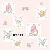 WALLPAPER SANRIO K 121 - 125 SERIES 1