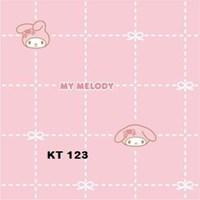Distributor WALLPAPER SANRIO K 121 - 125 SERIES 3