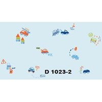 Distributor WALLPAPER DREAM WORLD D 1021 - D 1025 SERIES 3