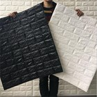 Wallpaper Foam warna hitam 2