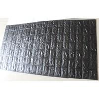 Wallpaper Foam warna hitam 1