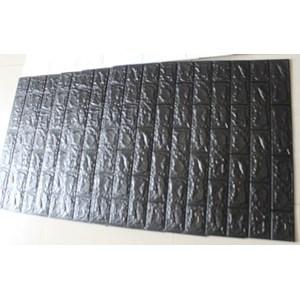 Wallpaper Foam warna hitam