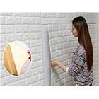 Wallpaper foam Warna putih 1