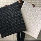 Wallpaper foam Warna putih 3
