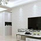Wallpaper foam Warna putih 5