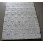 Wallpaper foam Warna putih 4