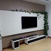 Jual Wallpaper foam Warna putih 2