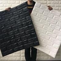 Distributor Wallpaper foam Warna putih 3