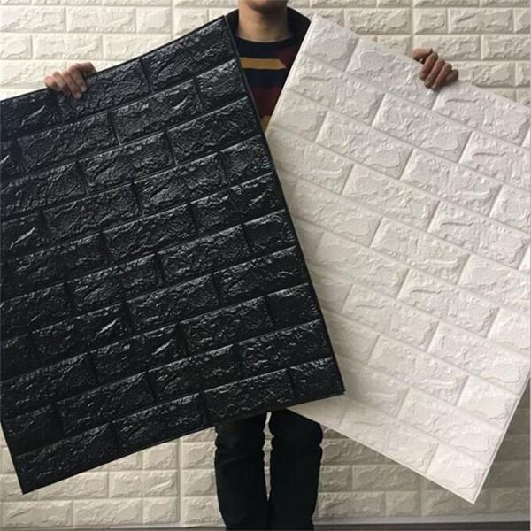 Wallpaper foam Warna putih