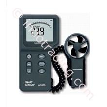 Anemometer Temperatur Digital Merk Smart Sensor Tipe Ar836 Air Velocity