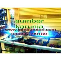 sirene rotator polisi biru-biru 1