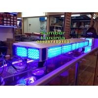 lampu rotator polisi tbd 5000 biru-merah Murah 5